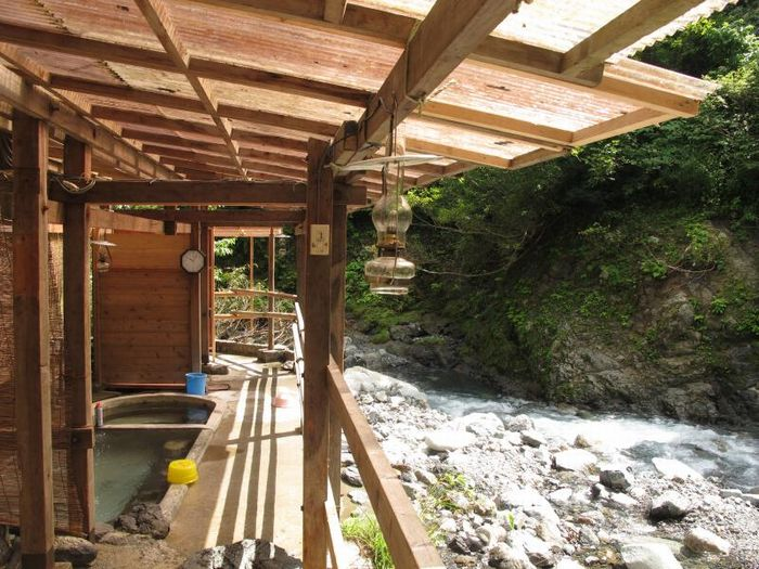新潟県の駒の湯山荘