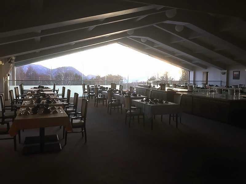 あずまや高原ホテルレストラン(食堂)