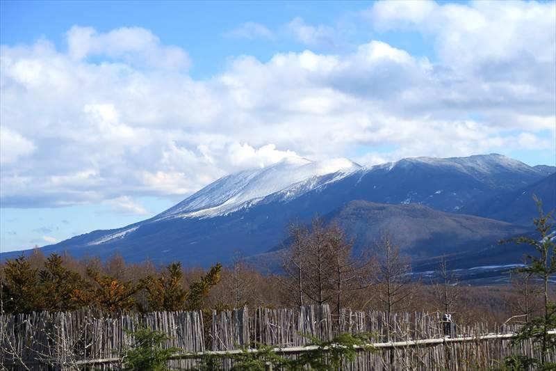 あずまや高原ホテルから見た浅間山
