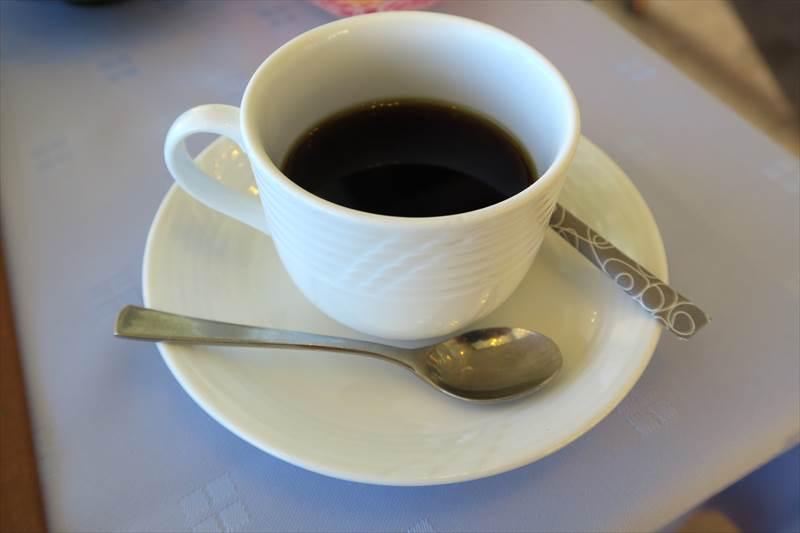 あずまや高原ホテルの朝食でのコーヒー