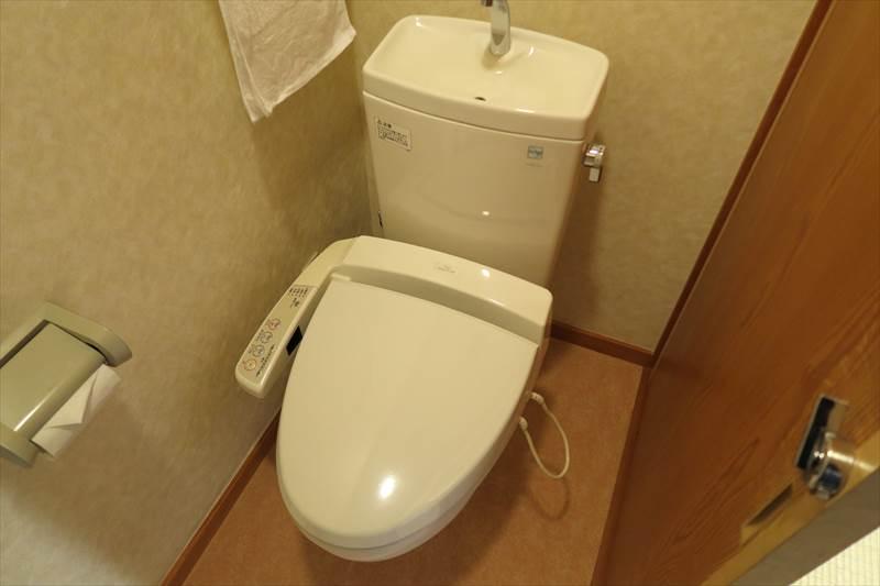 鎌先温泉 時音の宿 湯主 一條 客室のトイレ