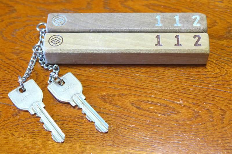 鎌先温泉 時音の宿 湯主 一條の客室の鍵
