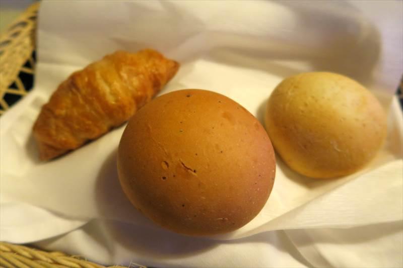 鎌先温泉 時音の宿 湯主 一條の朝食のパン