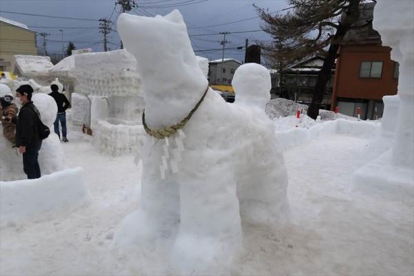 秋田県湯沢市 犬っこまつり