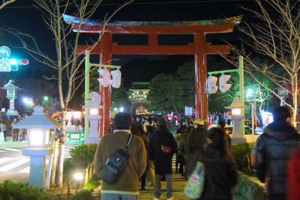 鶴岡八幡宮 初詣
