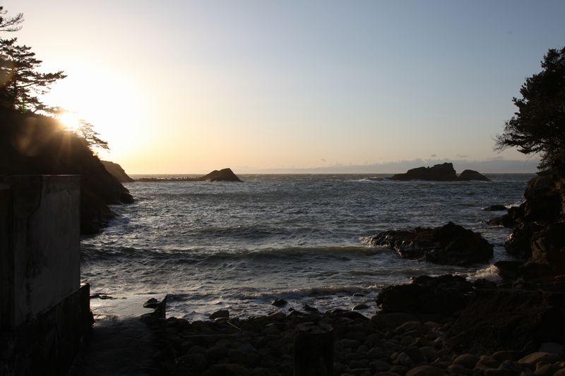 赤井浜露天風呂