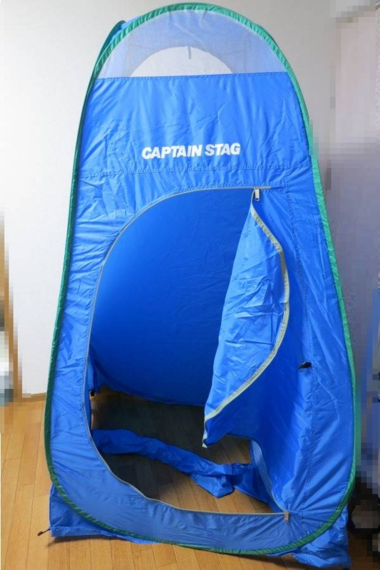 着替えようテント