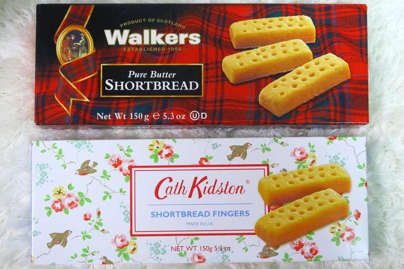 ショートブレッドフィンガー「Walkers」「Cath Kidston」