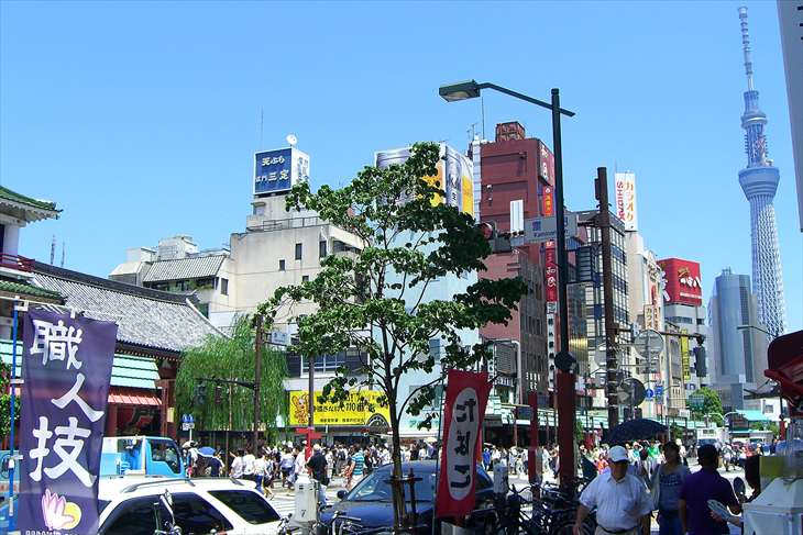浅草寺とほおずき市