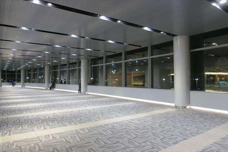 羽田空港 第2ターミナルからの夜景