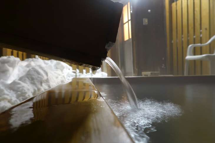 ホテル季風クラブ知床の貸切露天風呂