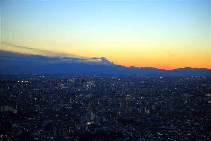 スカイサーカス サンシャイン60展望台からの夜景