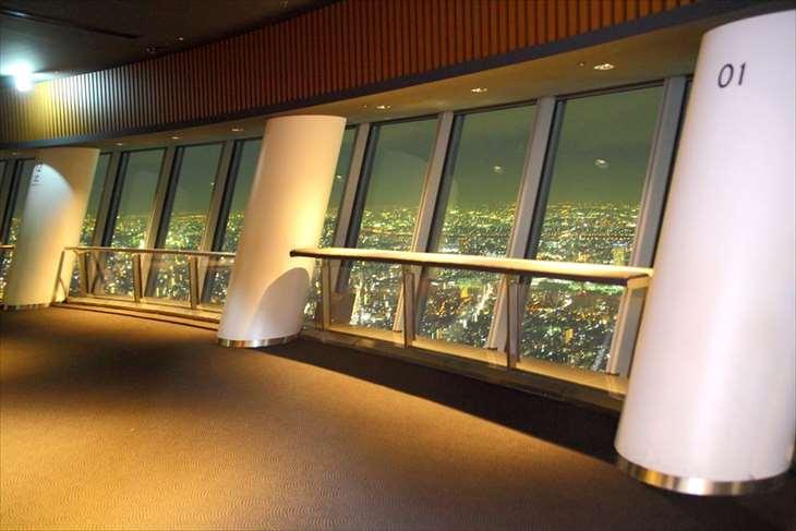 東京スカイツリーフロア340