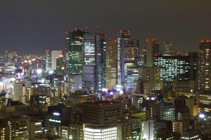 東京タワー メインデッキからの夜景