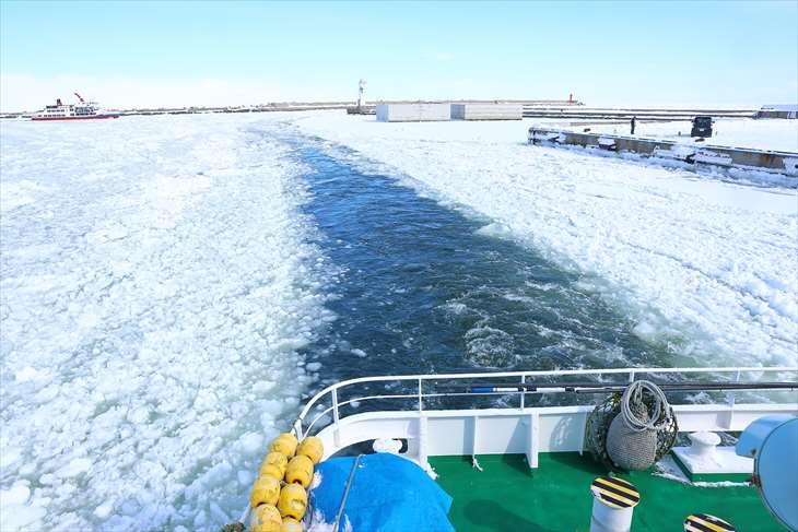 網走流氷砕氷船おーろら号