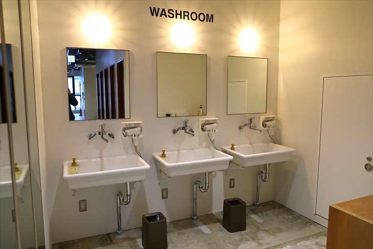 札幌 GOEN 洗面スペース