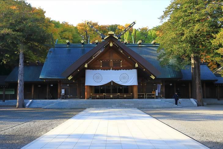 北海道神宮の拝殿