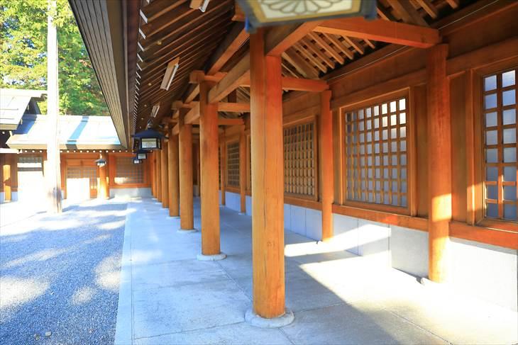 北海道神宮 回廊