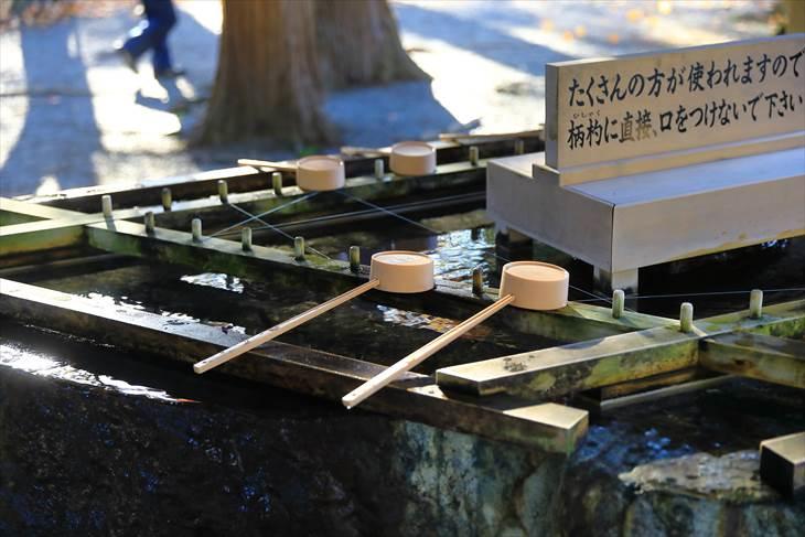 北海道神宮の手水舎