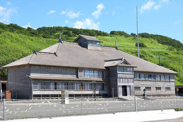 小平町・国の重要文化財「旧花田家番屋」