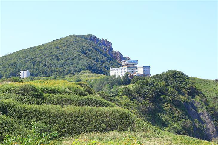 小樽市鰊御殿からの風景