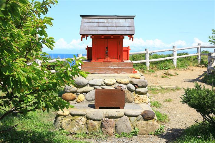 小樽市鰊御殿 水富稲荷神社