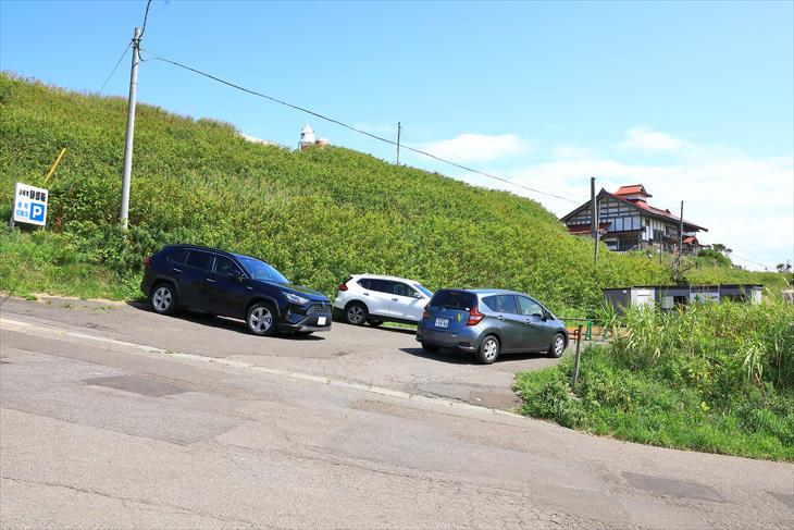 小樽市鰊御殿駐車場