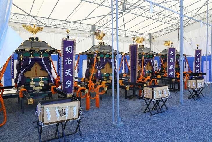 北海道神宮 神輿