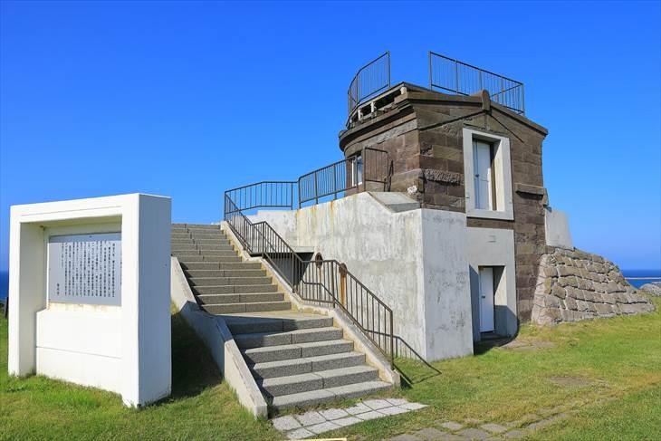 宗谷岬公園 旧海軍望楼