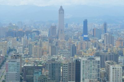 台湾 台北の街並み