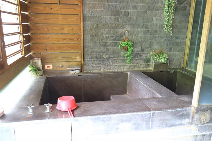 烏来温泉の個室