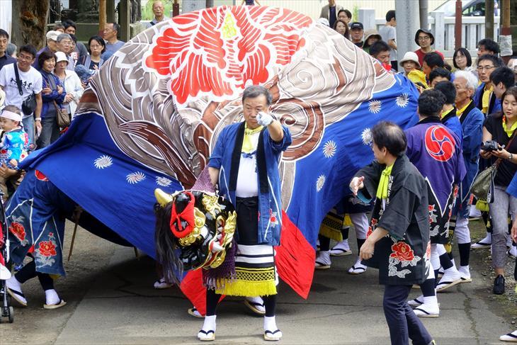 丘珠獅子舞