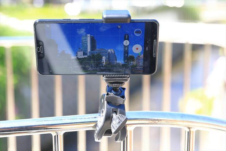 自転車用カメラスタンド