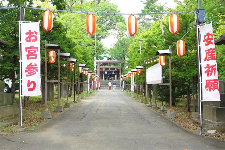 月寒神社のお祭り