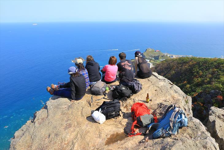 小樽海岸自然探勝路・テーブル岩