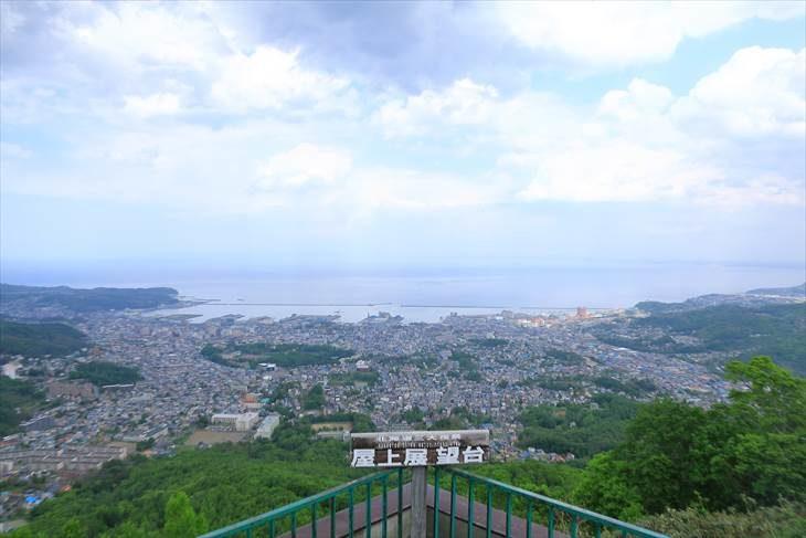 小樽 天狗山からの眺め