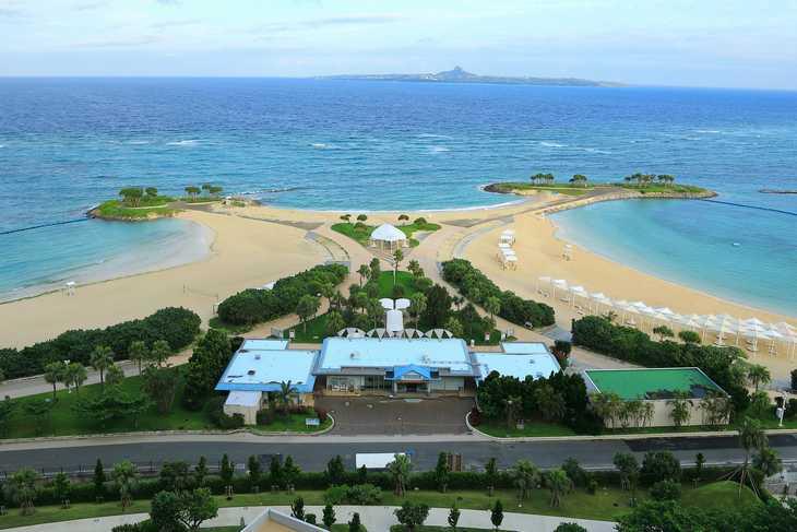 沖縄 ホテル専用ビーチ
