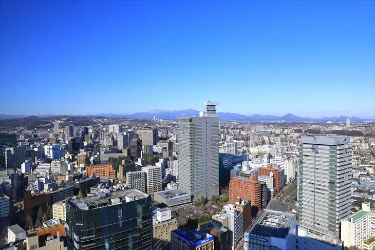 AER(アエル)31階からの風景