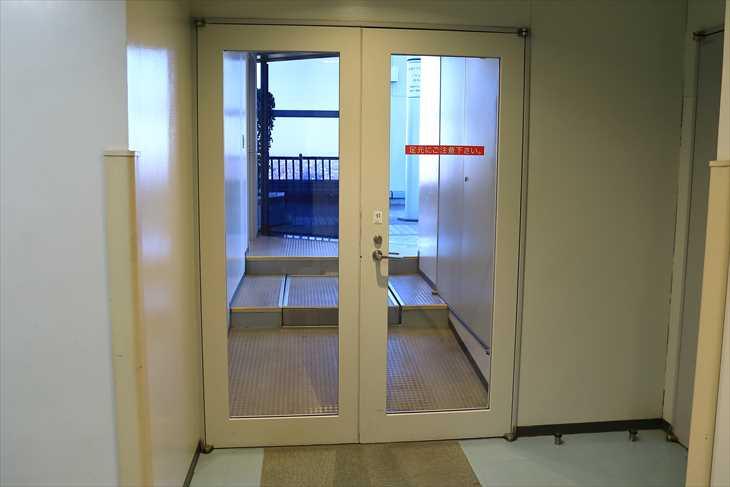 AER(アエル)展望テラスへの入り口