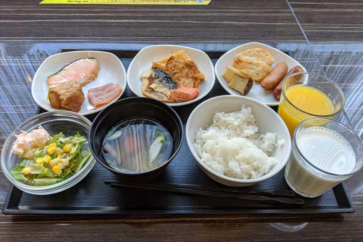 ドーミーイン仙台駅前 朝食バイキング