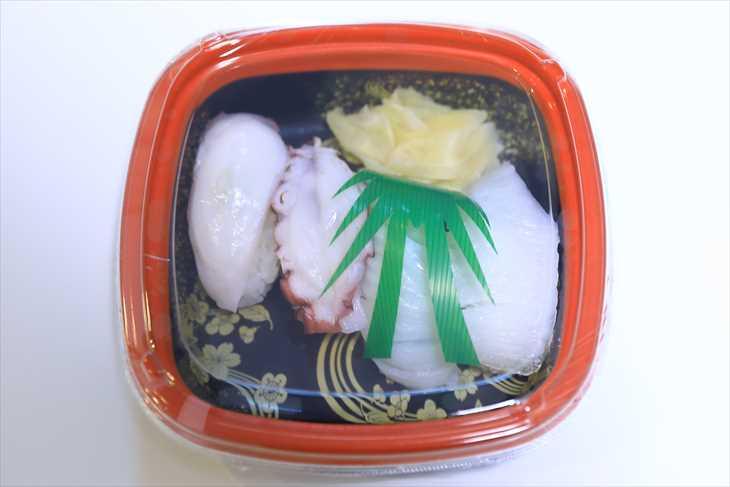 お寿司 タコとエンガワ