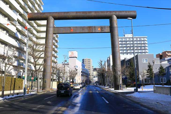 北海道神宮第一鳥居