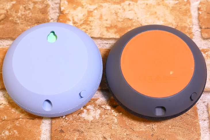 Google Nest MiniとHome Mini