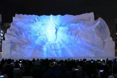 2018年さっぽろ雪まつり 4丁目会場大雪像