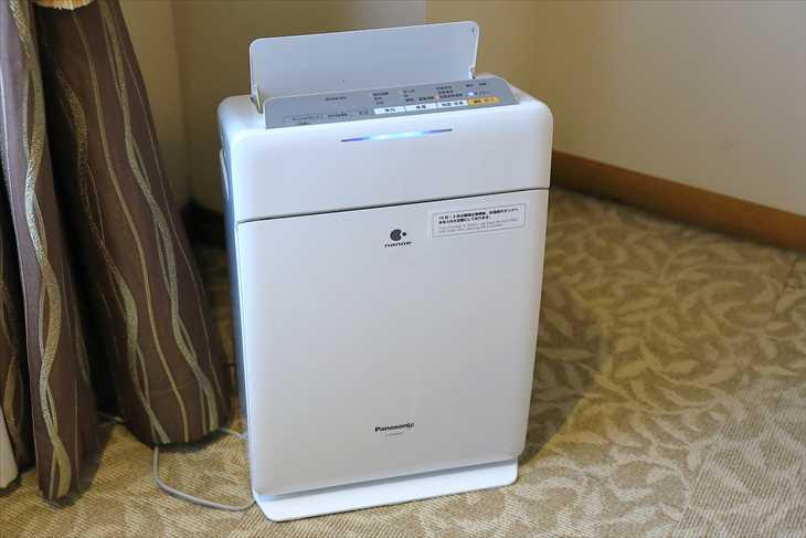 ホテルノルド小樽 加湿空気清浄機