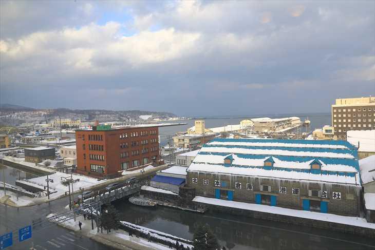 ホテルノルド小樽 部屋からの眺め