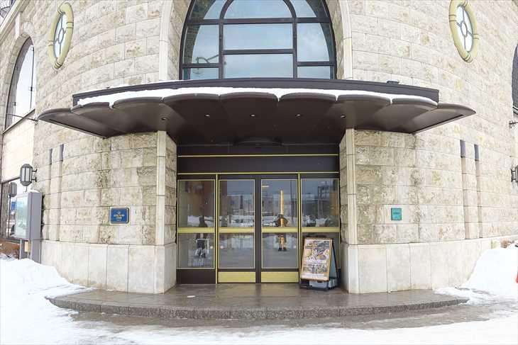 ホテルノルド小樽 入口