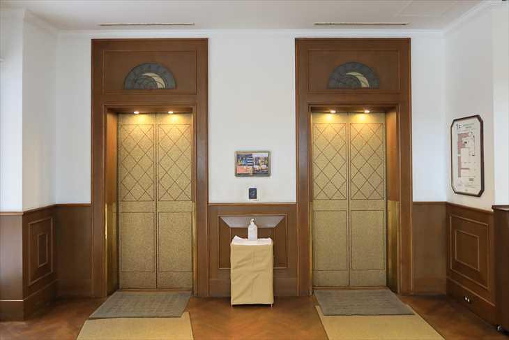 ホテルノルド小樽 エレベーター