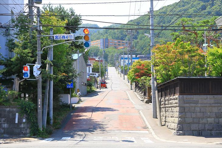 札幌 かつら坂