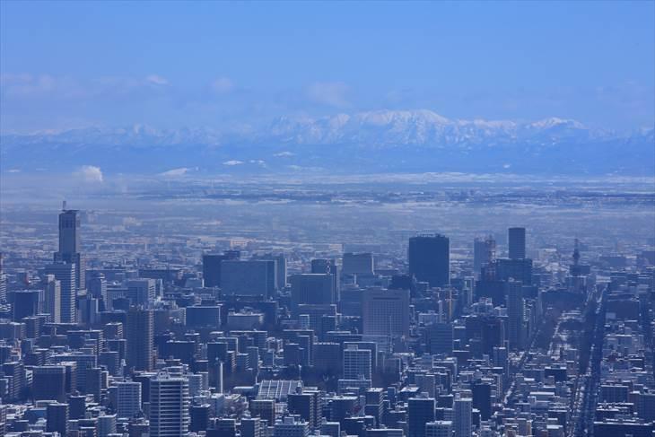 大倉山展望台からの風景